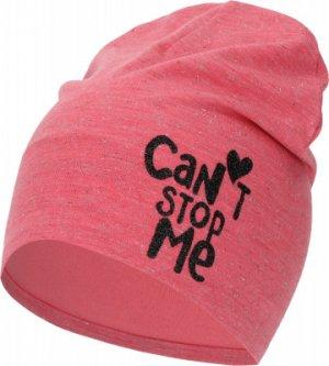 Шапка для девочек , размер 54 Demix. Цвет: розовый