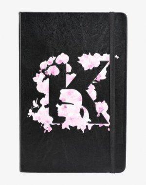 Записная книжка KARL LAGERFELD. Цвет: черный