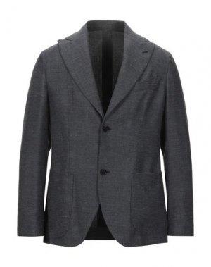 Пиджак SARTITUDE Napoli. Цвет: темно-синий