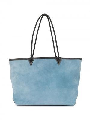 Большая сумка-тоут Altuzarra. Цвет: синий
