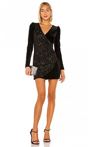 Мини платье selby Bailey 44. Цвет: черный
