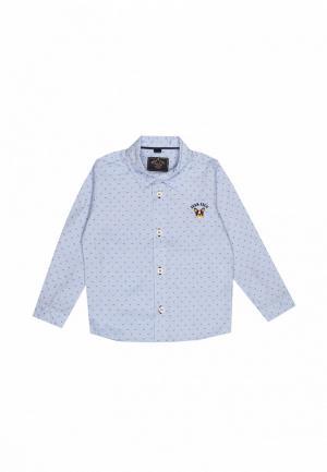 Рубашка Noble People. Цвет: голубой