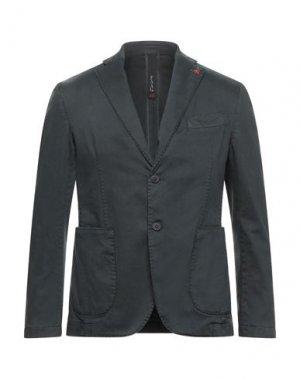 Пиджак FAAG. Цвет: свинцово-серый