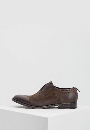 Туфли Barracuda BA056AMZUA45. Цвет: коричневый