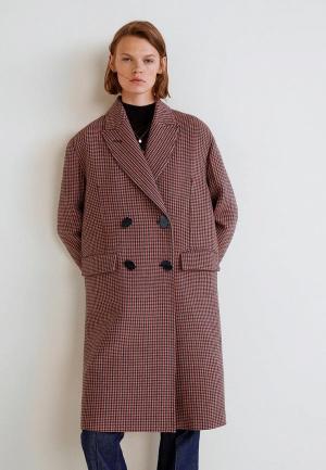 Пальто Mango - CARLITOS. Цвет: бордовый