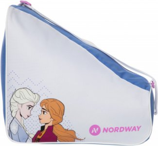 Сумка для ледовых коньков детская FROZEN Nordway. Цвет: белый