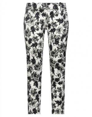 Повседневные брюки CLIPS. Цвет: слоновая кость