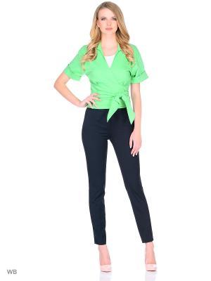 Блузка IQdress. Цвет: светло-зеленый
