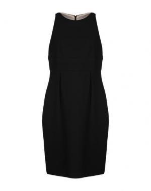Платье до колена GIO' GUERRERI. Цвет: черный