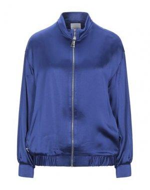 Куртка JIJIL. Цвет: синий