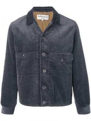 Вельветовая куртка-бомбер YMC. Цвет: серый