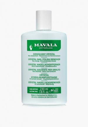 Средство для снятия лака Mavala профессиональное Кристал Nail Polish Remover Crystal, 230 мл. Цвет: прозрачный