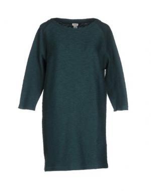 Короткое платье INTROPIA. Цвет: темно-зеленый