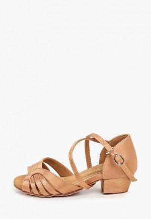 Туфли для танцев Dance House. Цвет: бежевый