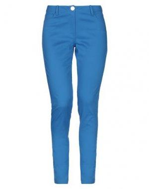 Повседневные брюки EMMA & GAIA. Цвет: ярко-синий