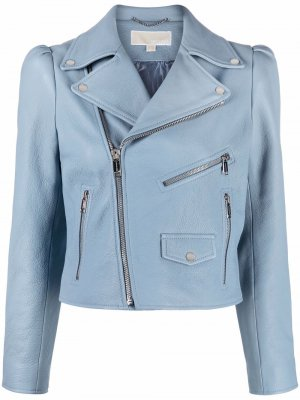 Байкерская куртка Michael Kors. Цвет: синий