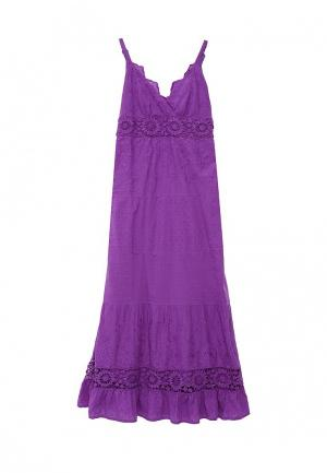 Сарафан Indiano Natural. Цвет: фиолетовый