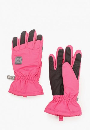 Перчатки Hofler. Цвет: розовый