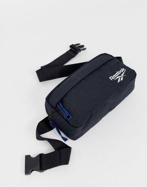 Черная сумка-кошелек на пояс с логотипом -Черный Reebok