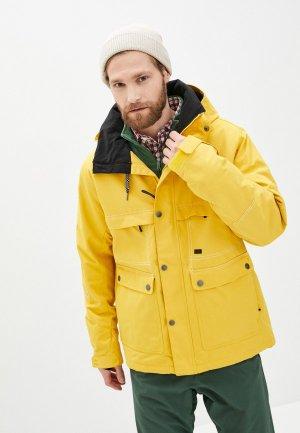 Куртка сноубордическая Billabong SHADOW JKT. Цвет: желтый