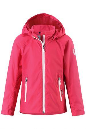 Куртка Reima. Цвет: малиново-красный