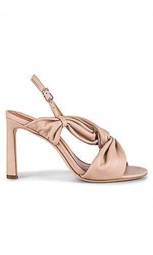 Сандалии на каблуке obelia Joie. Цвет: серо-коричневый