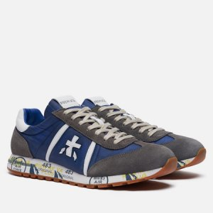 Мужские кроссовки Lucy 4573 Premiata. Цвет: синий