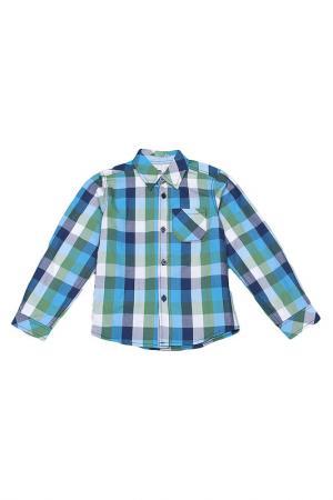 Сорочка (рубашка) CHERUBINO. Цвет: голубой