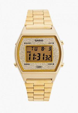 Часы Casio Collection B640WGG-9EF. Цвет: золотой