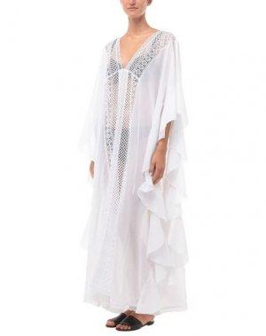 Пляжное платье CHARO RUIZ IBIZA. Цвет: белый