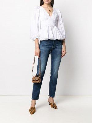 Прямые джинсы Dondup. Цвет: синий
