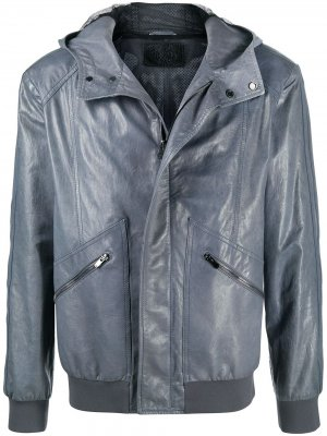 Куртка с капюшоном Drome. Цвет: серый