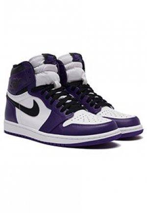 Кроссовки Air Jordan 1. Цвет: фиолетовый