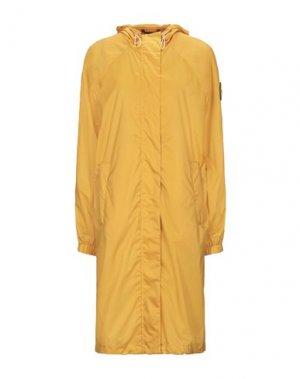 Легкое пальто CIESSE PIUMINI. Цвет: абрикосовый