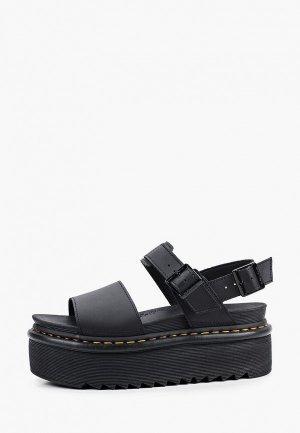 Босоножки Dr. Martens Voss Quad-Sandal. Цвет: черный
