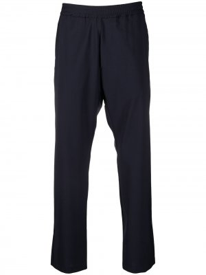 Укороченные брюки строгого кроя Barena. Цвет: синий