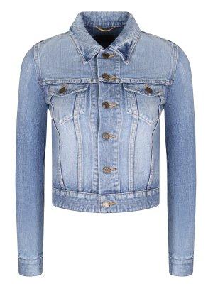 Куртка джинсовая укороченная YSL