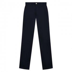Хлопковые брюки Alessandro Borelli Milano. Цвет: синий