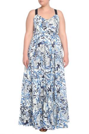 Платье Beatrice. B. Цвет: белый,голубой