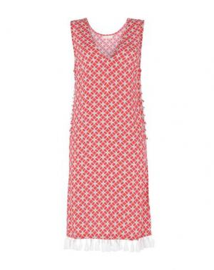 Пляжное платье MICHAEL KORS. Цвет: красный