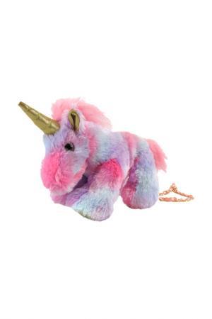 Сумочка Единорог Fluffy Family. Цвет: розовый, фиолетовый