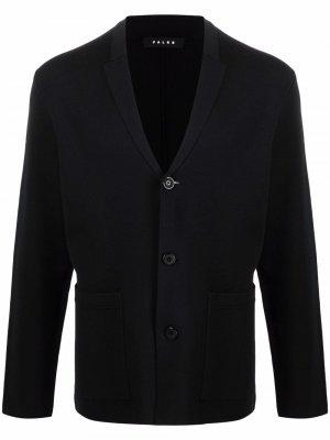 Трикотажный пиджак Falke. Цвет: черный