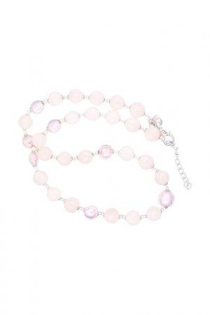 Ожерелье ZECCHIN VENICE. Цвет: розовый