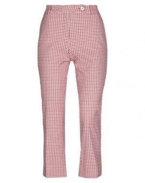 Повседневные брюки VIA MASINI 80. Цвет: красный