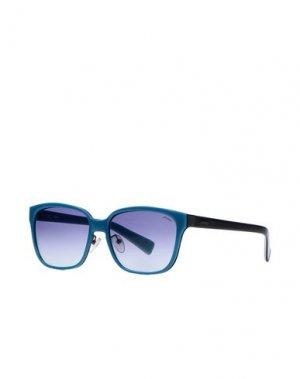 Солнечные очки STING. Цвет: бирюзовый