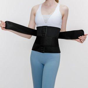 Пояс для похудения SHEIN. Цвет: чёрный