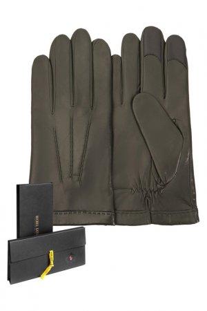 Перчатки Michel Katana. Цвет: оливковый