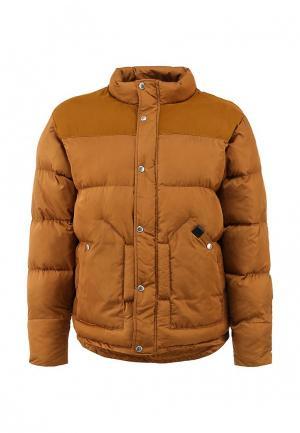Куртка утепленная Fat Moose. Цвет: коричневый