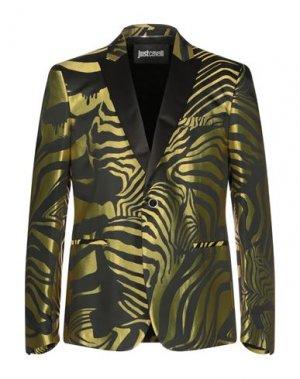 Пиджак JUST CAVALLI. Цвет: зеленый-милитари