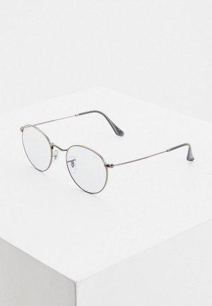 Очки солнцезащитные Ray-Ban® 0RB3447 004/T3. Цвет: серый